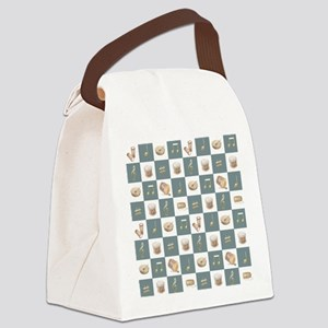 Learning the Drums Canvas Lunch Bag