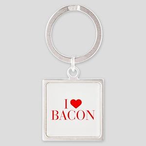 I love Bacon-Bau red 500 Keychains