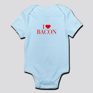I love Bacon-Bau red 500 Body Suit