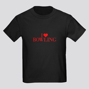 I love Bowling-Bau red 500 T-Shirt