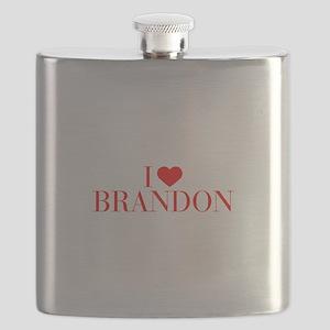 I love BRANDON-Bau red 500 Flask