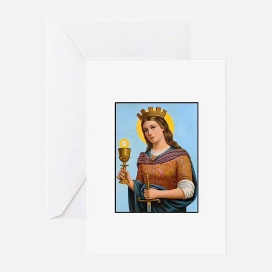 St. Barbara Greeting Cards