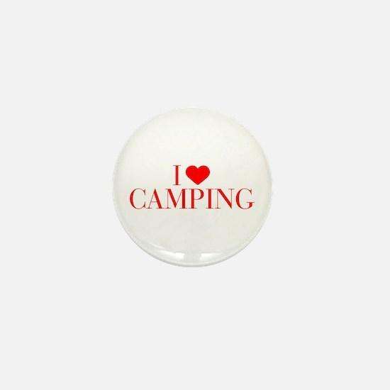 I love Camping-Bau red 500 Mini Button