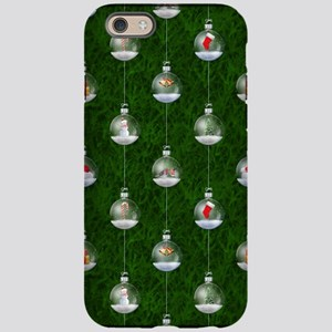 Evergreen Snowglobes iPhone 6 Tough Case