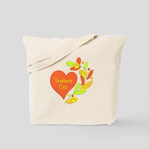 Tonkinese Heart Tote Bag