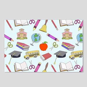School Influence Postcards (Package of 8)
