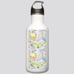 Off to School Stainless Water Bottle 1.0L