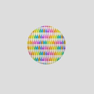 Crayon Ranks Mini Button