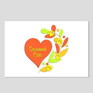 Savannah Heart Postcards (Package of 8)