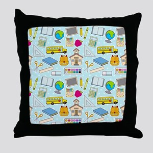 Simple Lessons Throw Pillow