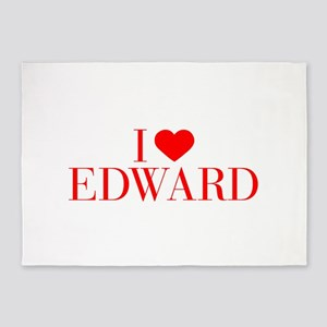 I love EDWARD-Bau red 500 5'x7'Area Rug