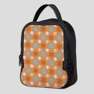 War Flower Neoprene Lunch Bag