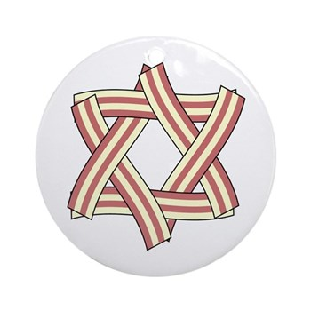 Star of Bacon Ornament (Round)