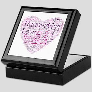 Runnergirl Heart Keepsake Box