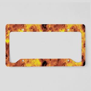 Raging Inferno License Plate Holder