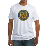 USS McNAIR Fitted T-Shirt