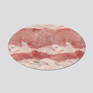 Easy Meat 20x12 Oval Wall Decal