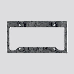 Collecting Coal License Plate Holder