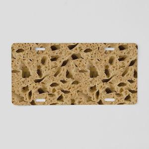 Dry Sponge Aluminum License Plate