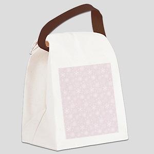 Winter Blush Canvas Lunch Bag