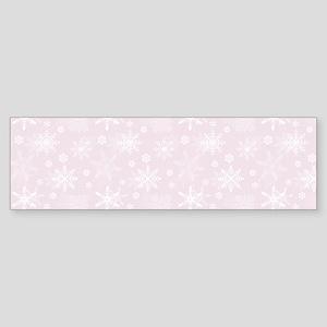 Winter Blush Sticker (Bumper)