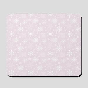 Winter Blush Mousepad