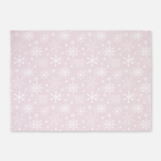 Winter Blush 5'x7'Area Rug