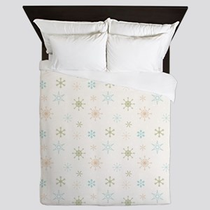 Festive Winter Queen Duvet