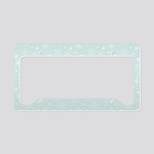 Anticipated Snow License Plate Holder