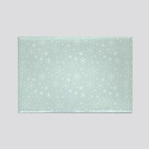 Anticipated Snow Rectangle Magnet