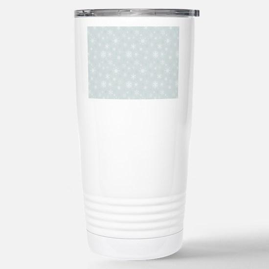 Winter Wonder Stainless Steel Travel Mug