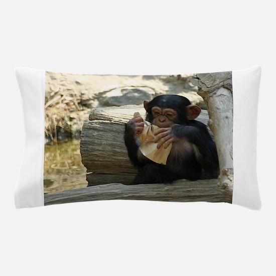 Chimpanzee_2015_0101 Pillow Case