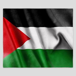 Palestine Flag King Duvet