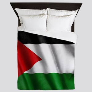 Palestine Flag Queen Duvet