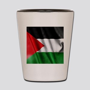 Palestine Flag Shot Glass