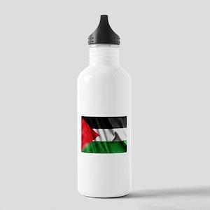 Palestine Flag Sports Water Bottle