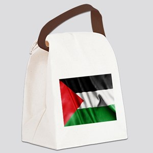 Palestine Flag Canvas Lunch Bag