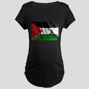 Palestine Flag Maternity T-Shirt