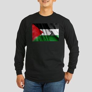 Palestine Flag Long Sleeve T-Shirt