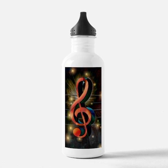 Clef Sports Water Bottle