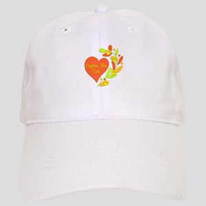 Egyptian Mau Heart Cap