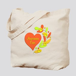 Abyssinian Heart Tote Bag