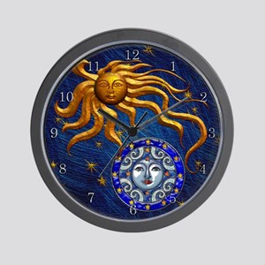 Harvest Moons Sun & Moon Wall Clock
