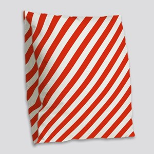 Candy Made Easy Burlap Throw Pillow