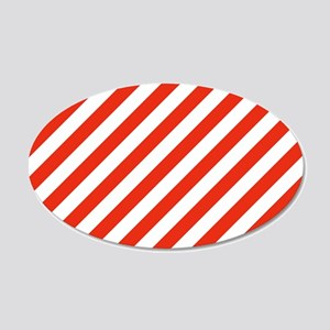 Candy Made Easy 20x12 Oval Wall Decal