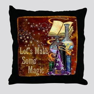 Harvest Moons Alchemy Throw Pillow