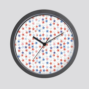 Stars of the Nation Wall Clock