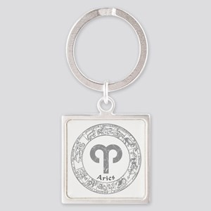 signs-aries Keychains