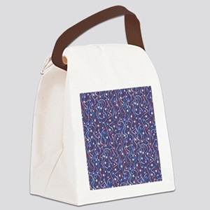 American Streamers Canvas Lunch Bag