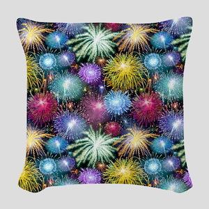 Celebrating Freedom Woven Throw Pillow